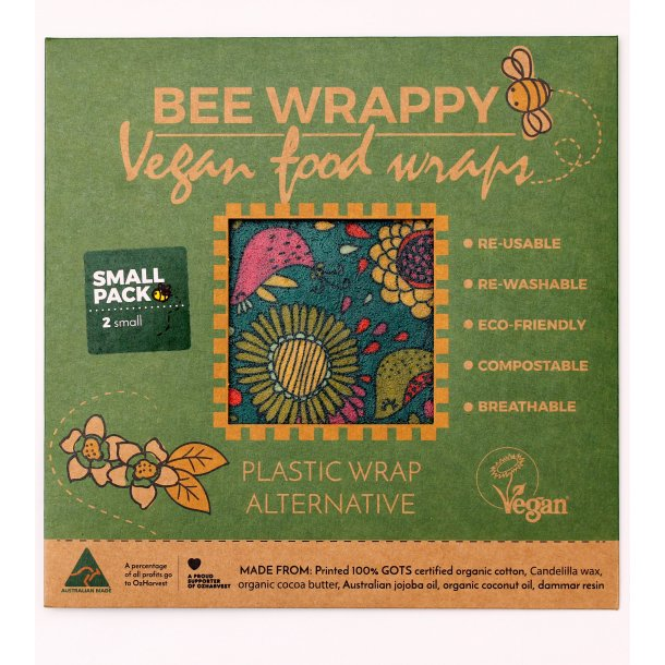 Bee Wrappy veganske wraps - 2 x Small